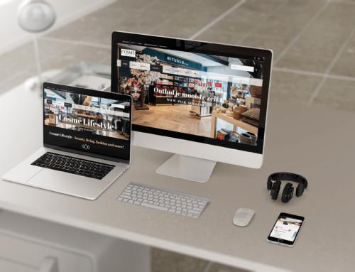 Nieuwe website voor Cosmé Lifestyle